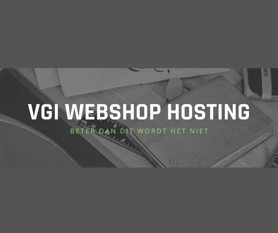 VGI Webshop hosting